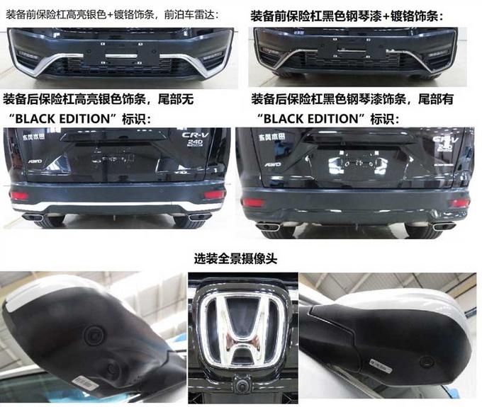 东风本田大改款CR-V实拍 尺寸提升/造型更运动-图4