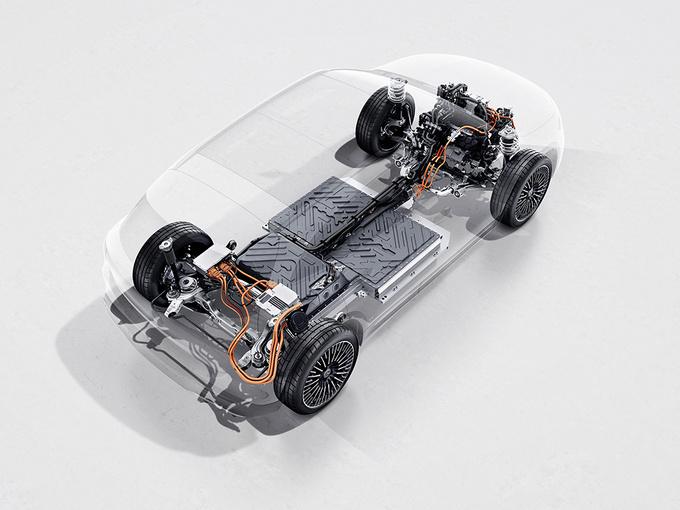 奔驰EQA首发 国产车型将搭双电机/续航超500公里-图8