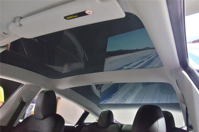 像苹果造的车 特斯拉Model3亮相重庆车展-图17