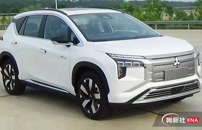 三菱首款国产纯电SUV曝光 或今年四季度上市-图1