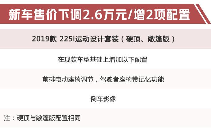 宝马新款2系进口价格曝光 敞篷版最高降价3.4万-图1