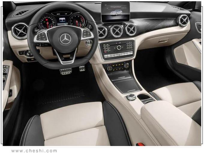 奔驰全新GLA发布 搭载1.6T发动机/内饰有亮点-图4