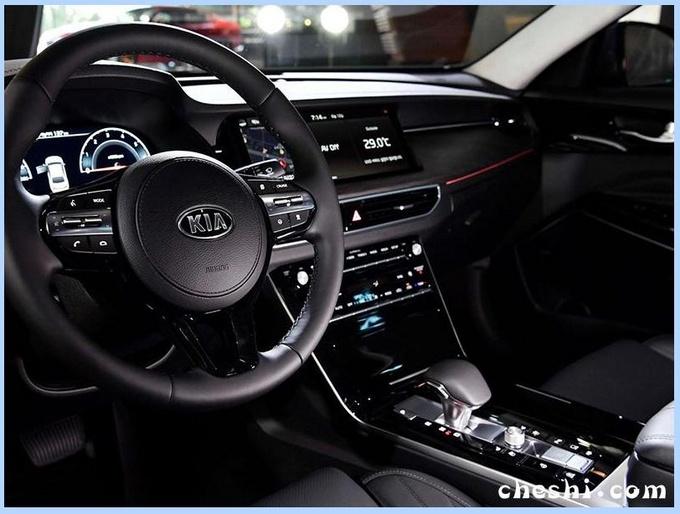 起亚新中型车曝光 配奥迪A8同款尾灯PK宝马3系-图5