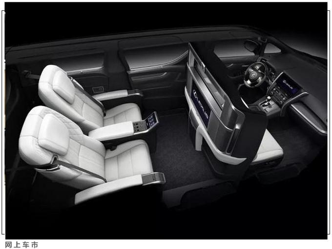 丰田陆巡加长版实拍 尺寸增半米/能从车顶下人-图6