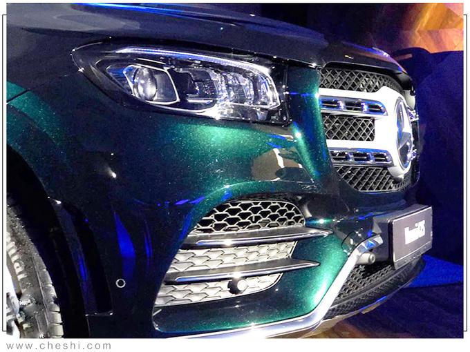 奔驰全新一代GLS实拍 搭3.0T混动/提供6座可选-图2