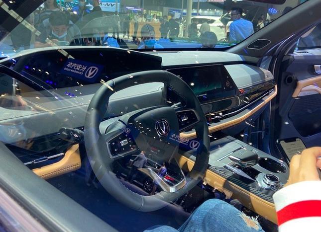 长安全新SUV首发亮相 外观前卫/尺寸超本田冠道-图6