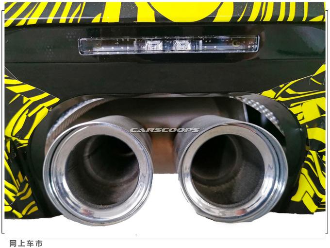 新款MINI Cooper谍照搭2.0T/中置双出排气更个性-图5