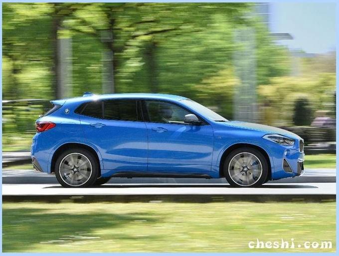 宝马新款X2实车曝光外观升级/竞争奔驰GLA-图2