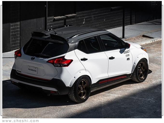 日产全新跨界SUV改装版 搭1.6T引擎动力大涨-图5
