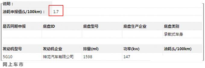 雪铁龙SUV天逸PHEV 将于三季度上市-油耗1.7L-图2