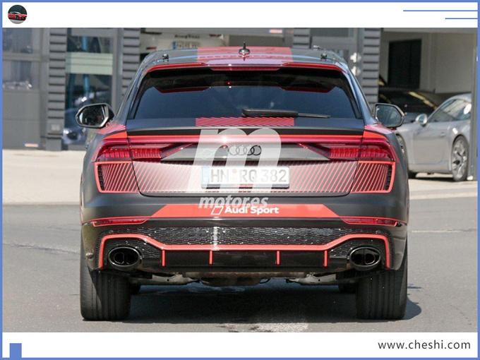 奥迪Q8 轿跑SUV高性能版 搭保时捷引擎11月亮相-图6