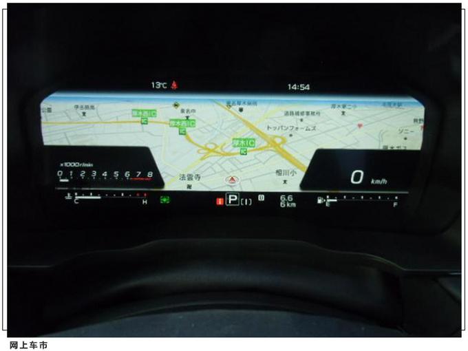 斯巴鲁全新旅行车实拍搭1.8T引擎/安全配置升级-图8