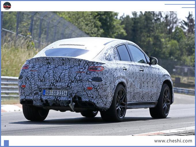 奔驰全新GLE轿跑性能版谍照 动力大涨超宝马X6-图5