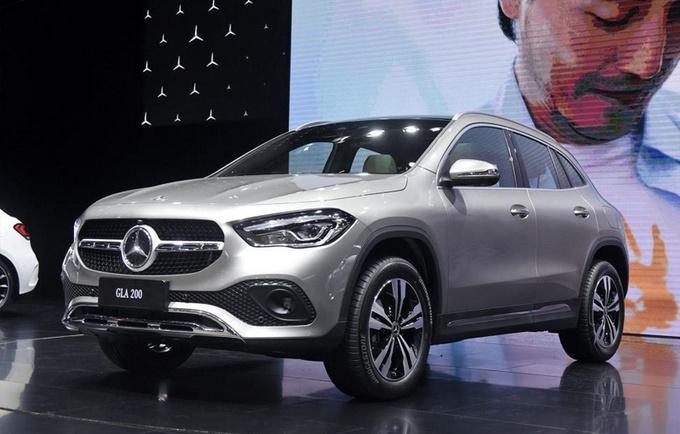 奔驰全新GLA投产下线 8月份上市 26万元起售-图3