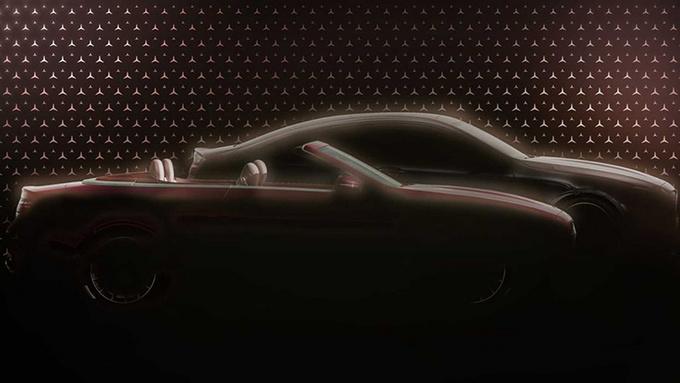 奔驰E Coupe预告图发布 将于5月27日正式亮相-图1
