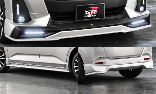 丰田Roomy GR车型发布配专属运动套件/10万起售-图3