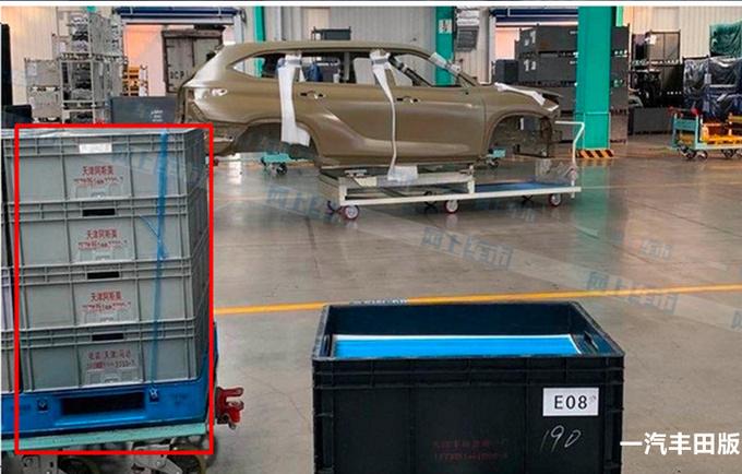 丰田全新汉兰达国产在即 双外观设计-明年中上市