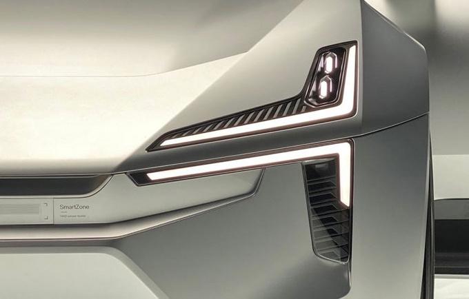 2020北京车展前瞻极星Precept概念车抢先看-图6