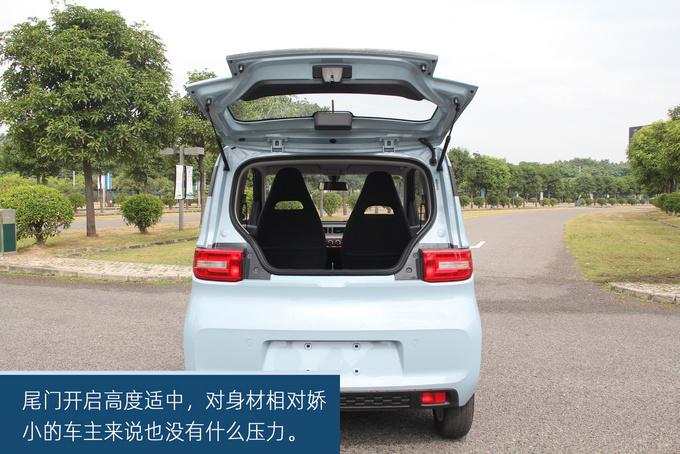 经济实惠的代步小车,五菱宏光MINI EV东莞实拍-图24