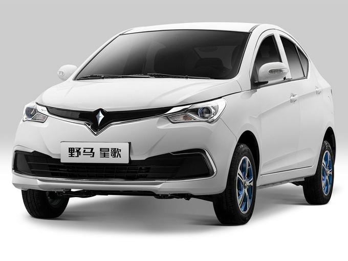 野马首款纯电动轿车定名星歌 竞争比亚迪e1-图1