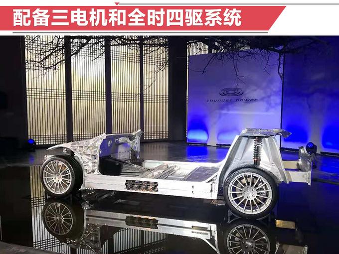 昶洧首款电动「跑」车 加速PK特斯拉 明年开卖