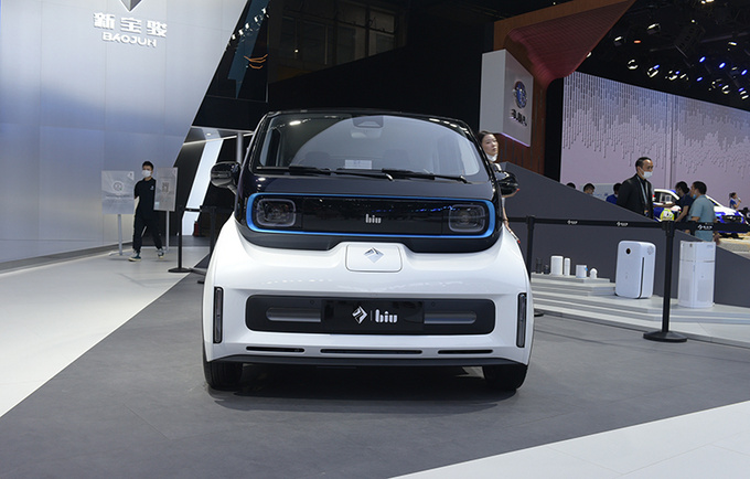 2020广州车展前瞻新宝骏E300苏宁小Biu多图实拍-图2