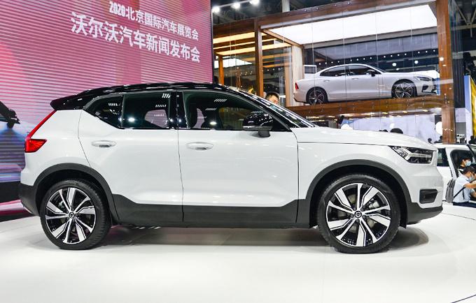 强动力高配置全满足 实拍沃尔沃首款纯电动SUV-图3