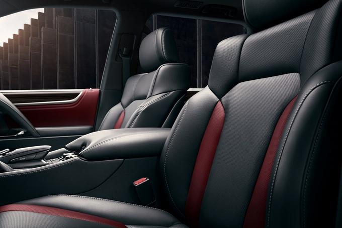 雷克萨斯LX 570特别版车型官图 搭熏黑运动套件-图8