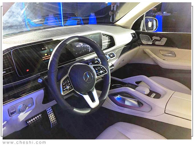 奔驰全新一代GLS实拍 搭3.0T混动/提供6座可选-图6