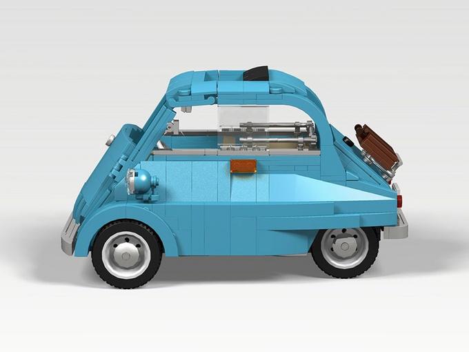 宝马Isetta 可能是乐高有史以来最可爱的套装-图4