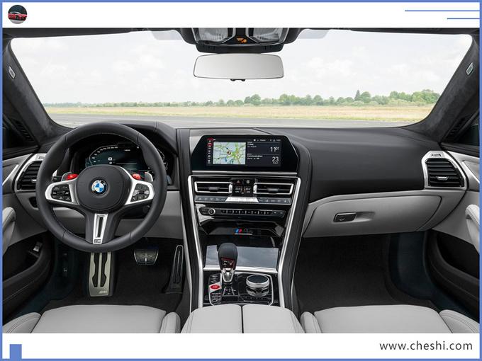 宝马8系四门轿跑性能版官图搭V8引擎年内开售-图5
