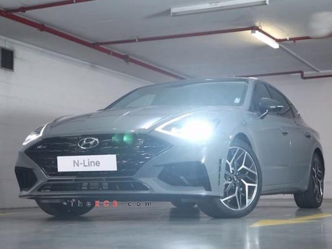 现代索纳塔新车型本月开售搭2.5T/动力本田雅阁-图1