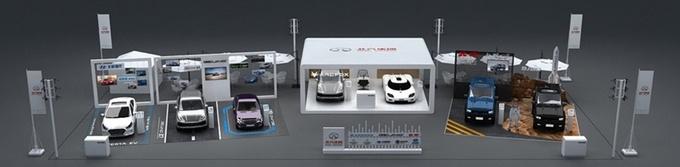 新品牌架构/产品升级 北汽集团北京车展主场SHOW-图8