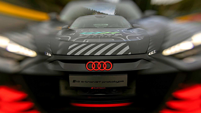 奥迪RS e-tron GT原型车官图 搭3电机/3秒内破百-图7