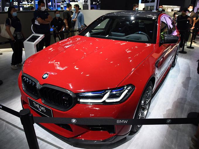 BBA均有新车 北京车展6款热门豪华性能车盘点-图22