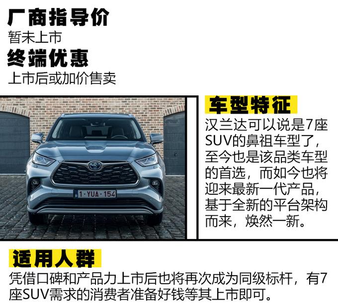 想买SUV别着急不妨看看2021年最值得期待的SUV-图1