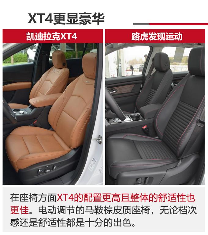 26万买豪华SUV 路虎发现运动/凯迪拉克XT4那款值-图9