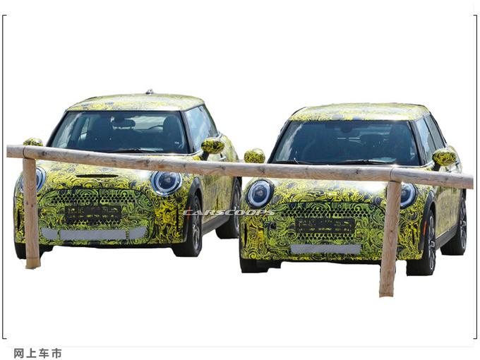 新款MINI Cooper谍照搭2.0T/中置双出排气更个性-图3