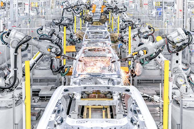揭秘Polestar 2诞生地中国台州工厂 自动化/效率高-图8