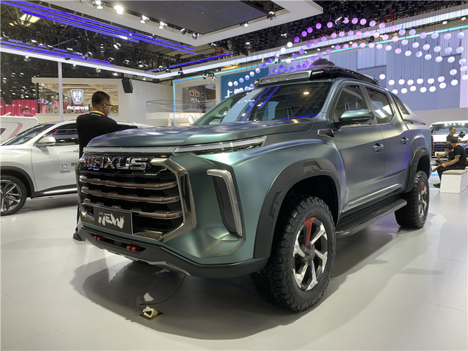 上汽皮卡NEW亮相北京车展科技化/双涡轮是亮点-图1