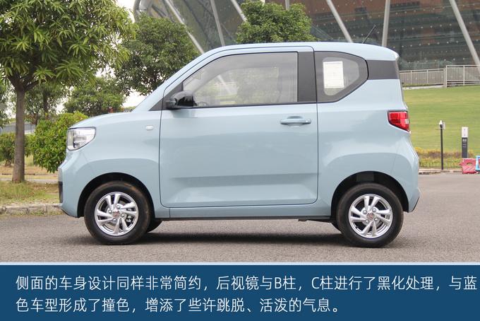 经济实惠的代步小车,五菱宏光MINI EV东莞实拍-图8