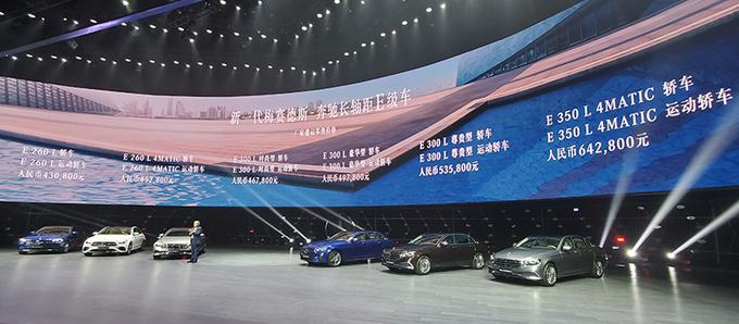 奔驰新款E级正式上市 43.08万元起售 外观更运动-图1