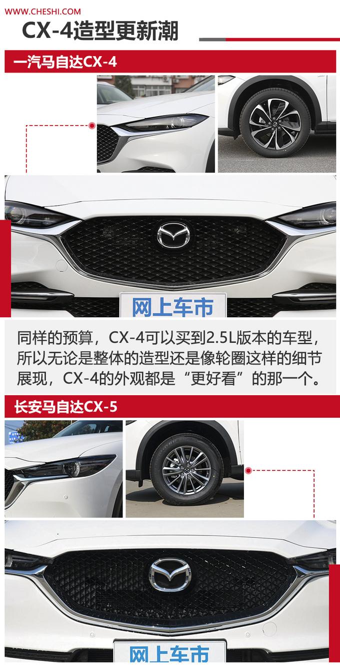 马自达SUV谁更值 CX-4尺寸更大-动力更强-图6