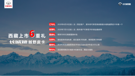 长城炮越野皮卡西藏上市售价16.98万-19.98万元-图10