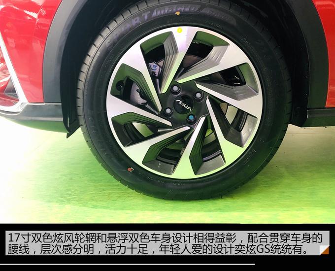 潜力股网红神车 东风风神奕炫GS到店实拍-图11