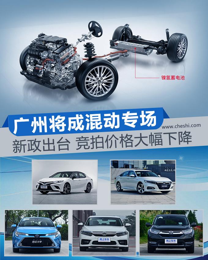 新政出台 竞拍价格大幅下降广州将成混动专场-图1