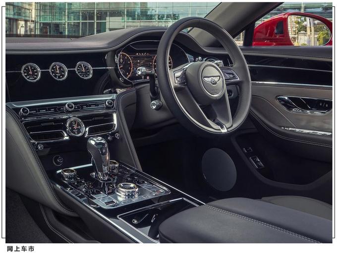 宾利全新飞驰V8官图发布搭4.0T引擎/可四轮转向-图5