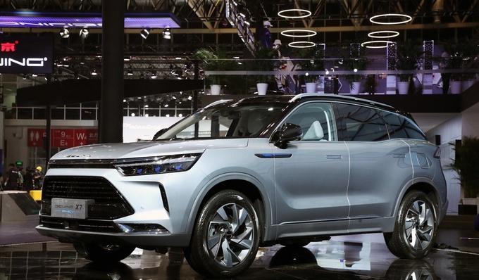 新架构新产品全面焕新的BEIJING汽车开启show time-图5