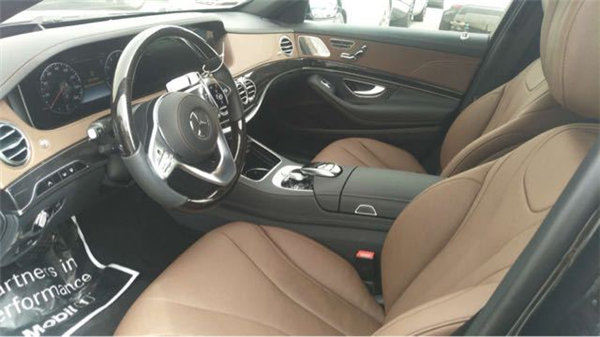18款奔驰S450黑车棕内 125万享豪驾体验-图10