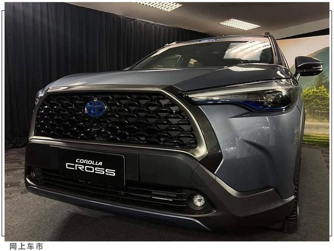 丰田SUV版卡罗拉实拍内饰酷似RAV4车型-图2